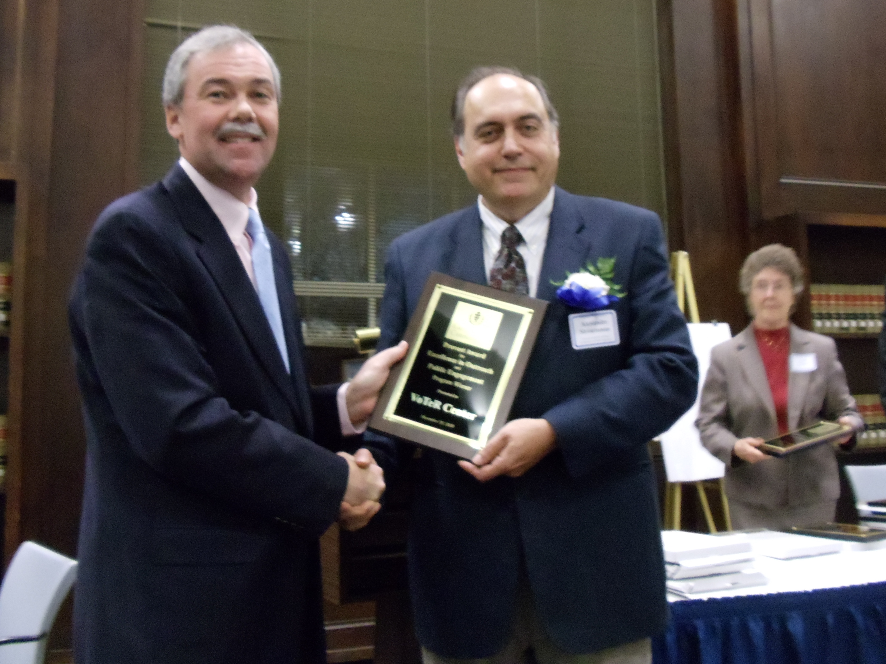 VoTeR Center Award 2010